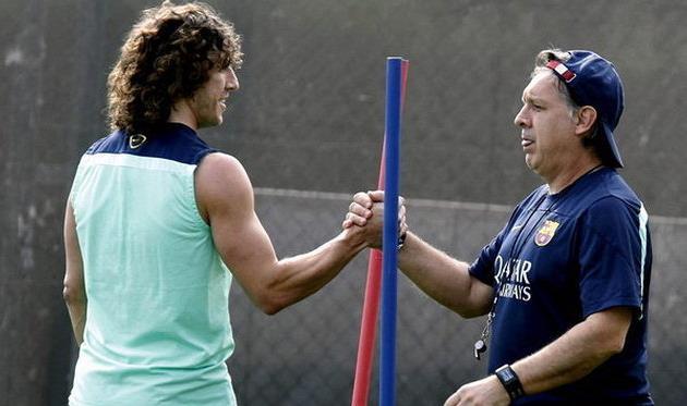 Карлес Пуйоль и Херардо Мартино, mundodeportivo.com