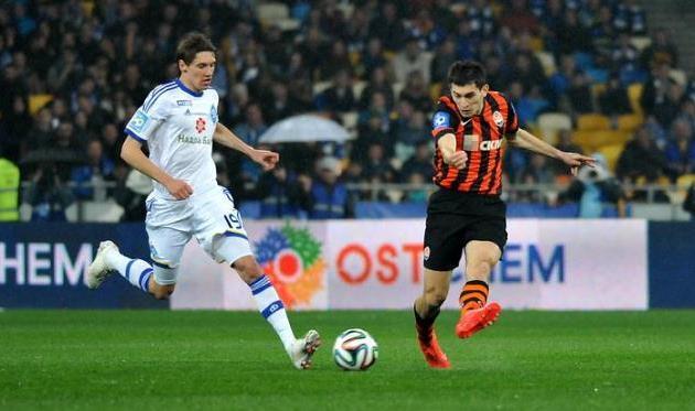 Тарас Степаненко против Дениса Гармаша, фото И.Хохлова, Football.ua