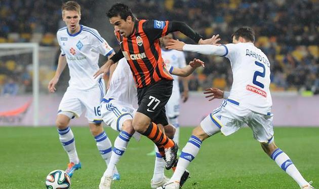 Илсиньо уходит от динамовцев, фото Ильи Хохлова, Football.ua