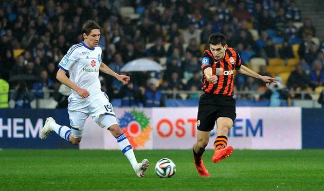 Степаненко против Гармаша, фото Ильи Хохлова, Football.ua