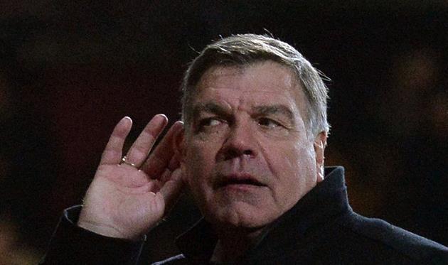 Аллардайс не хочет прислушиваться к болельщикам. Фото Sky Sports
