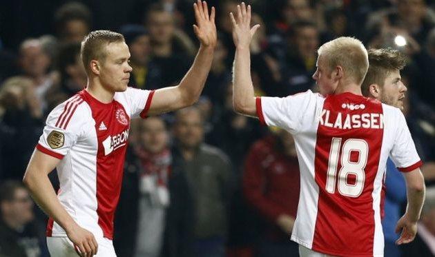 Колбейнн Сигторссон (слева), fcupdate.nl