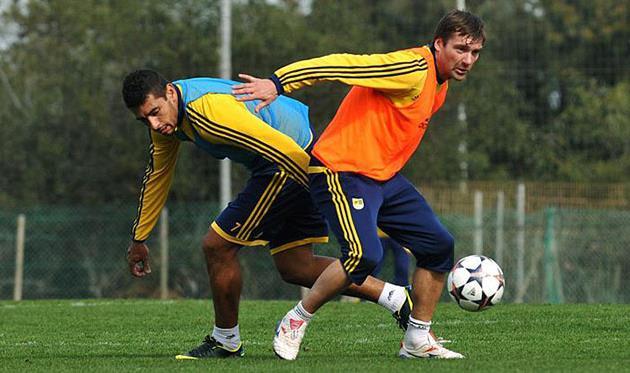 Олег Шелаев (справа), фото Михаила Масловского, Football.ua