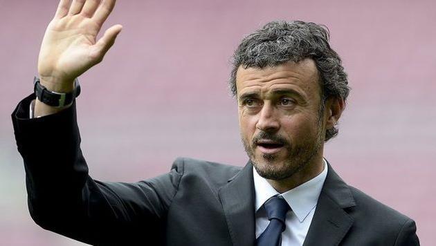 Луис Энрике, фото uefa.com