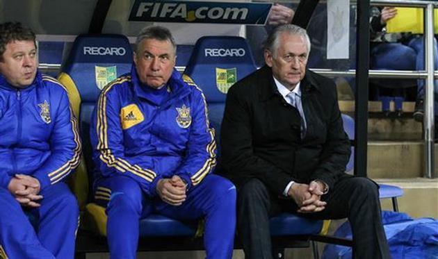 Михаил Фоменко (справа), фото Д.Неймырка, Football.ua