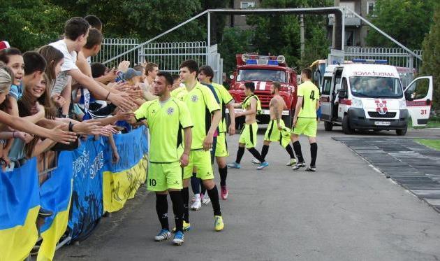 Сталь и Горняк-Спорт принимают поздравления, fcstal.com.ua