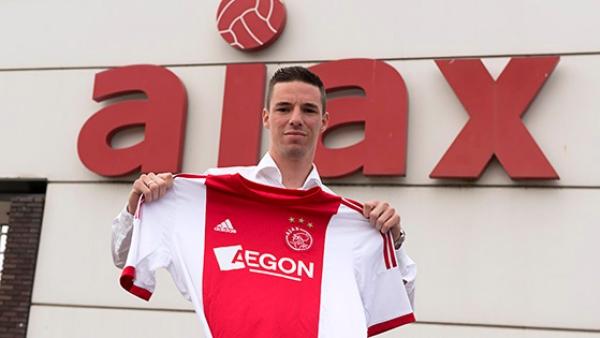 Ник Виргевер, фото ajax.nl