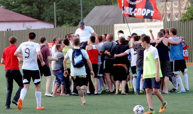Горняк-Спорт сильнее в дерби, фото gornyak-sport.net