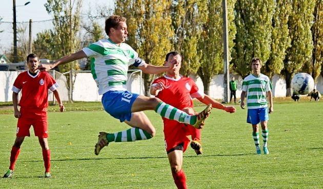 В первом круге херсонцы сумели выиграть в Овидиополе, фото lanzheron.com