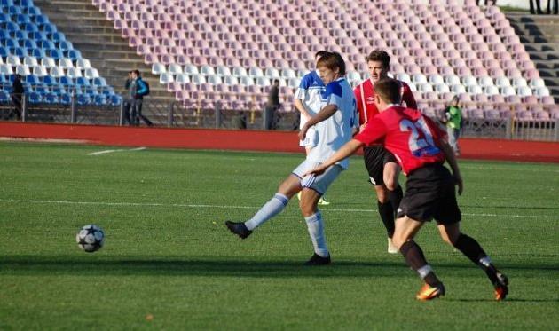 В матче со Славутичем Горняк попытается досрочно повыситься в классе, фото fcslavutich.ck.ua
