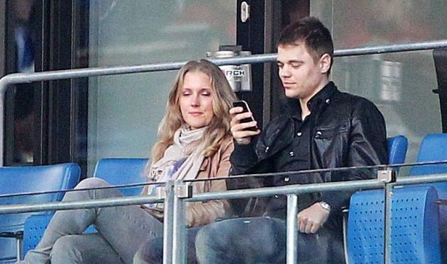 Борис Вукчевич впервые пришел на стадион после аварии, фото imago
