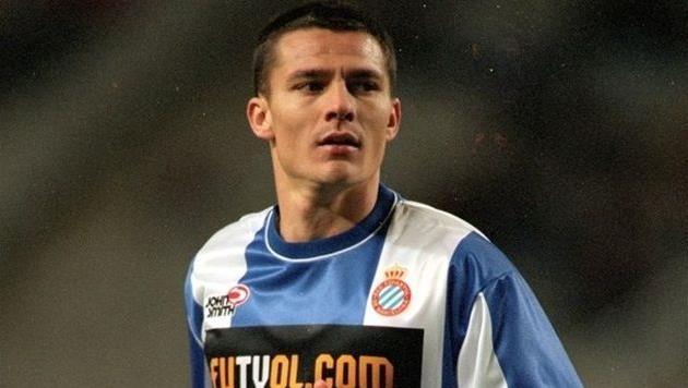 Константин Гылкэ в матче 2001 года в составе Эспаньола, фото uefa.com