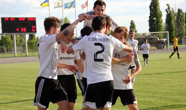 Горняк-Спорт стал чемпионом второй лиги, даже не выходя на поле в последнем туре, фото gornyak-sport.net