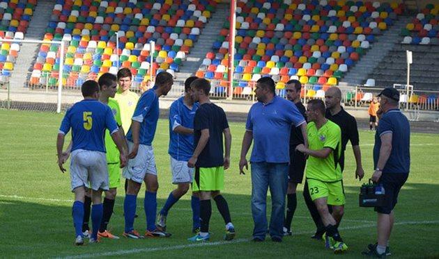 В центральном матче тура эмоции бурлили, фото sports.te.ua