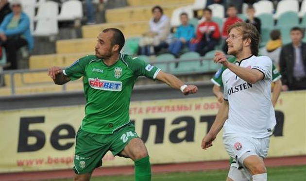 Пашаев против Хомченовского, фото А. Ковалева, Football.ua