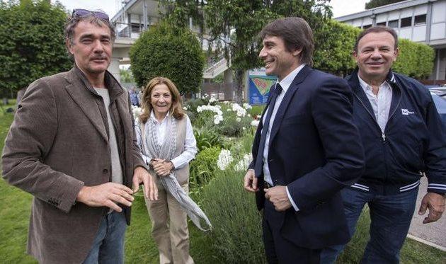 Массимо Джилетти и Антонио Конте, фото tuttosport.com