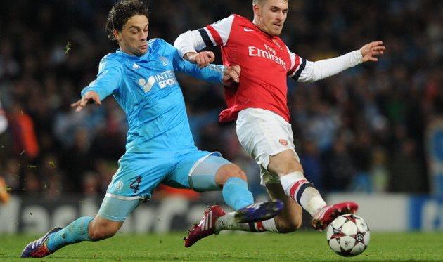 Мендес в матче против Арсенала, фото getty images