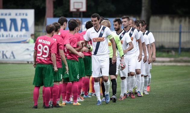 Черкасский Днепр дебютирует в новом статусе на родном стадионе, fcskala.com
