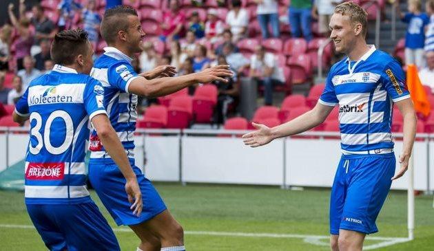 Нейланд (справа) принес Зволле второй трофей в году, fcupdate.nl