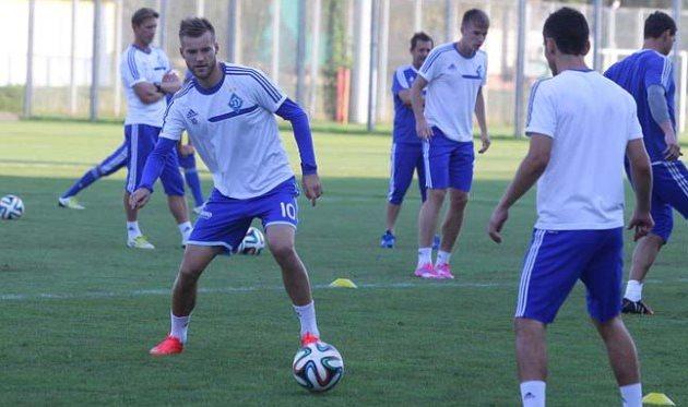 Андрей Ярмоленко, фото www.fcdynamo.kiev.ua