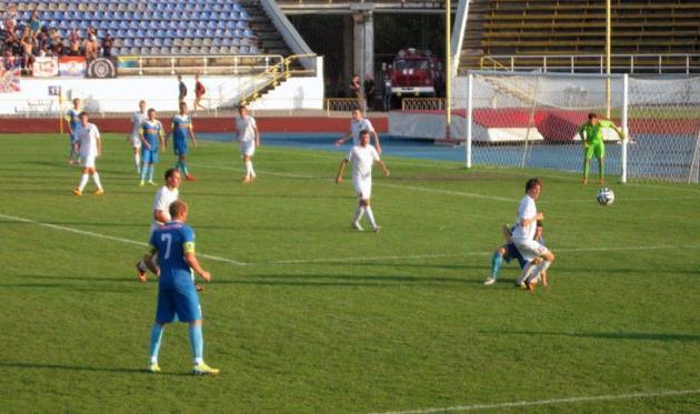Самой громкой сенсацией стала белоцерковская ничья, фото fcslavutich.ck.ua