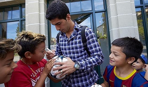 Барселона: Суарес готовится сыграть в контрольном матче