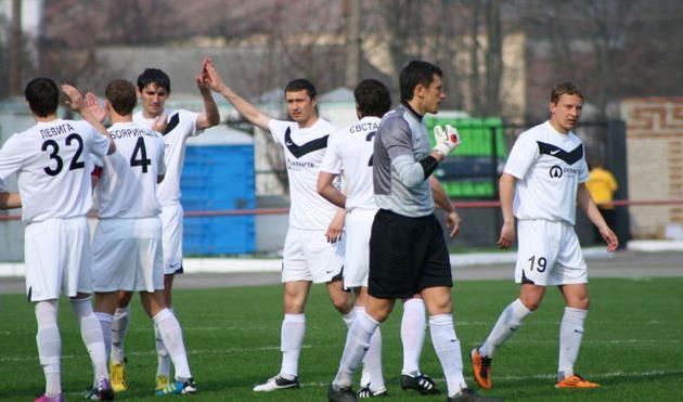 Ахтырчане завоевали первую победу в чемпионате и покинули последнее место, фото fcnaftovyk.com.ua