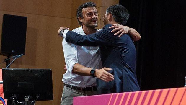 Луис Энрике и Хосеп Бартомеу, marca.com