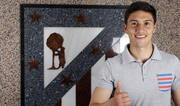 Эмилиано Веласкес, clubatleticodemadrid.com