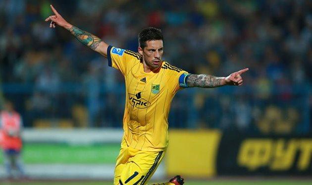 Хосе Соса, фото Романа Шевчука, Football.ua