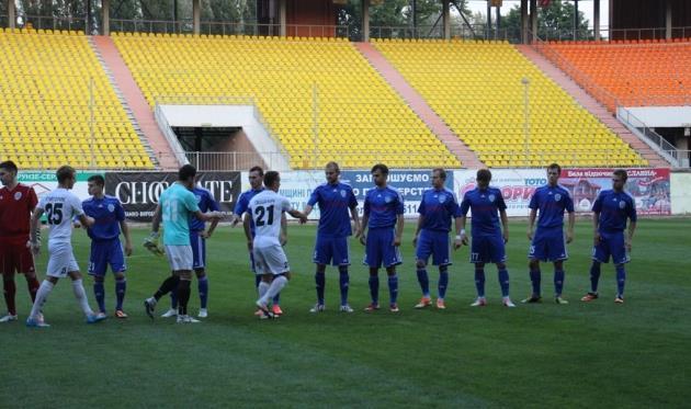 Сумы: есть первая победа в новом сезоне! Фото fc.sumy.ua