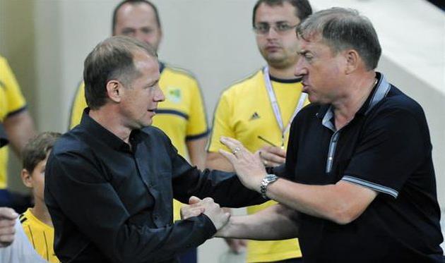 Вячеслав Грозный и Игорь Рахаев, фото М. Масловского, Football.ua