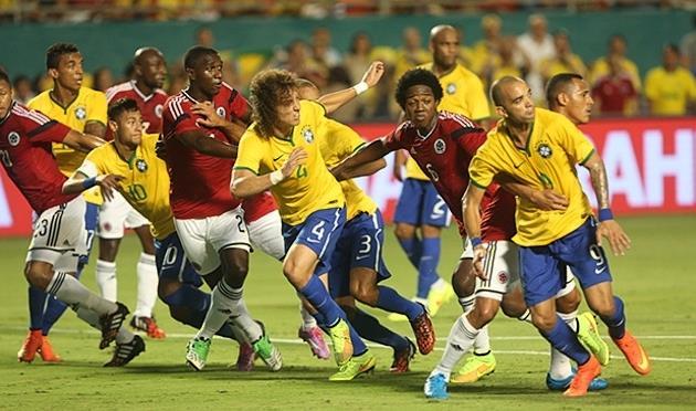 ბრაზილიამ კოლუმბია დაამარცხა