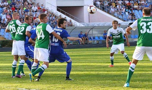 Прокипчук ненадолго подарил матчу интригу, niknews.mk.ua