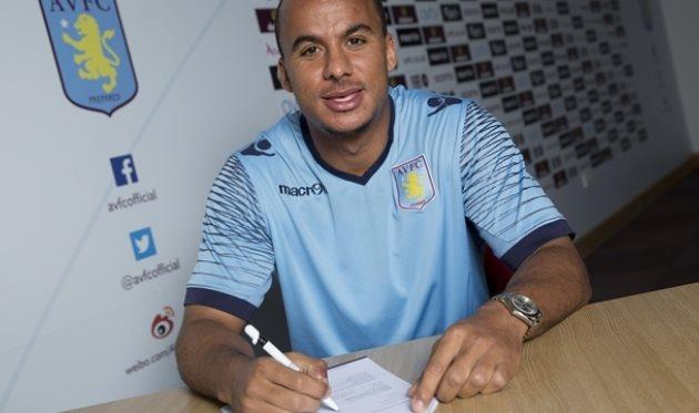 Габриэль Агбонлахор, фото www.avfc.co.uk