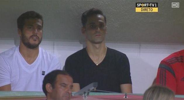 Жонас (справа), фото twitter.com/Benficastuff
