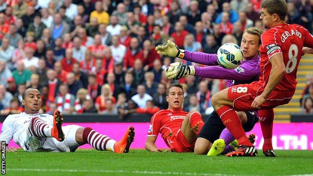 Агбонлахор забивает единственный мяч, Getty Images