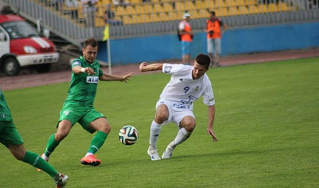 Олег Герасимюк (справа), fcgoverla.uz.ua