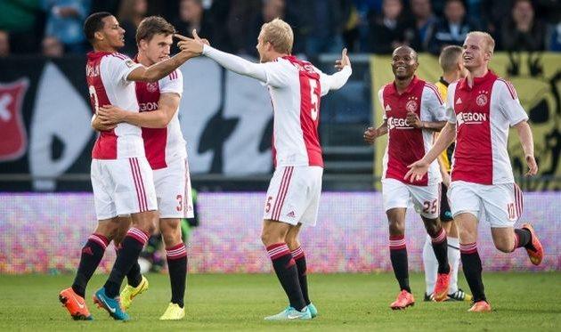 Аякс продолжает победную серию, fcupdate.nl