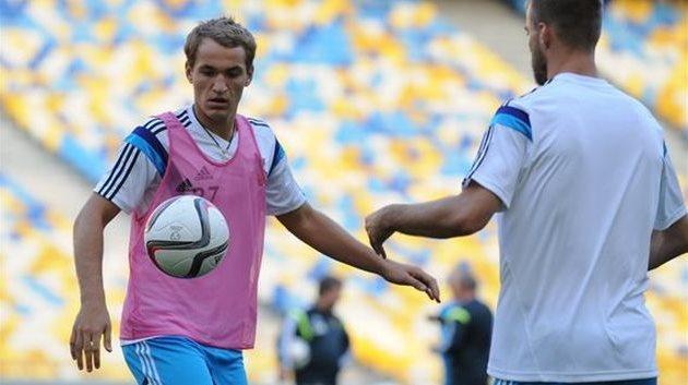 Евгений Макаренко (слева), фото Football.ua