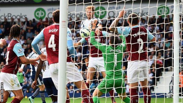 Доусон открывает счет в матче, Getty Images