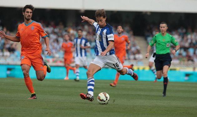 Каналес забил бывшей команде, фото diariovasco.com