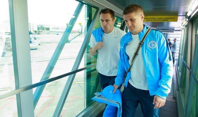 Владимир Езерский и Сергей Нагорняк, фото ФК Днепр