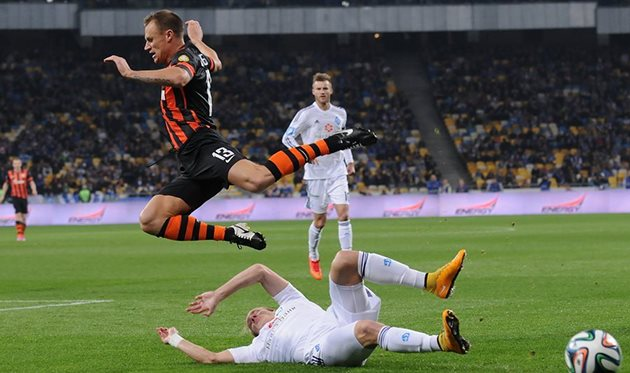 Шевчук матч не доиграл, фото Ильи Хохлова, Football.ua