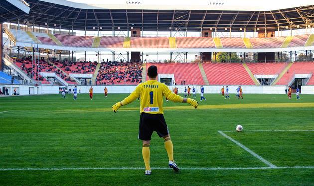 Воспитанник кировоградского футбола Травкин помог сумчанам обыграть родную команду, фото fc.sumy.ua