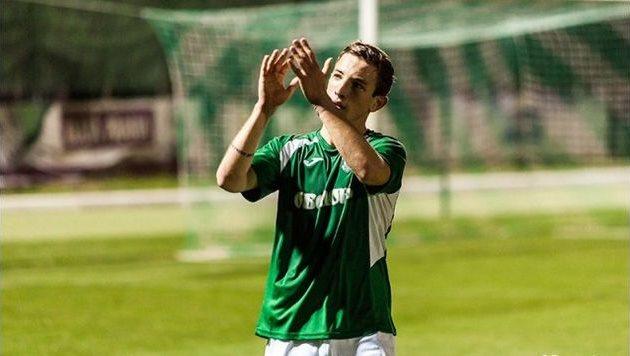 Артем Фаворов двумя голами помог оболонцам завоевать лидерство, фото fcbrovar.obolon.ua