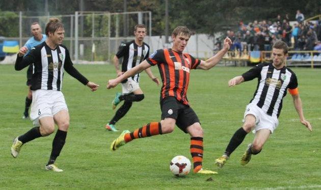 Александр Гладкий в матче с Полтавой, фото football.ua
