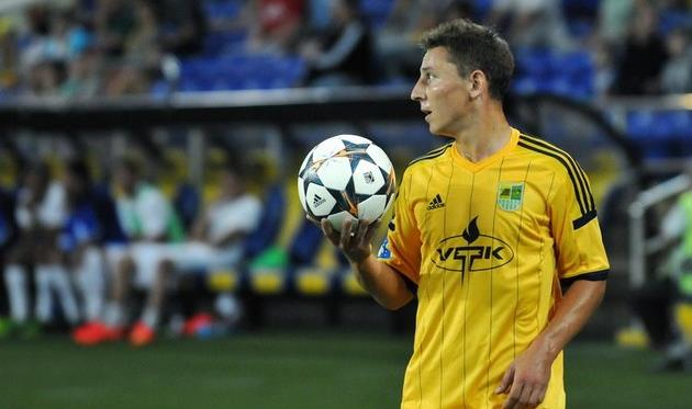 Василий Кобин, фото Михаила Масловского, Football.ua