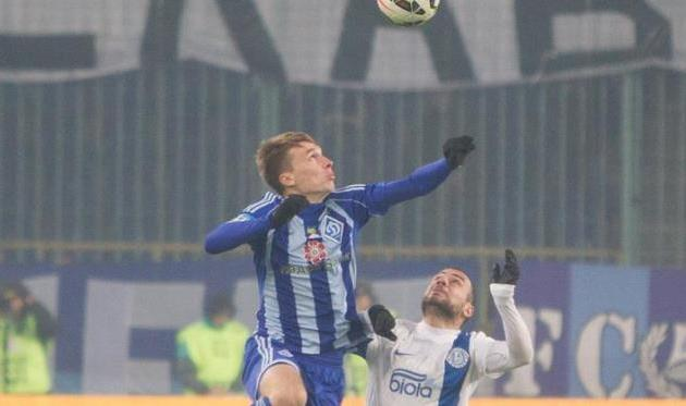 Сергей Сидорчук в матче с Днепром, фото football.ua