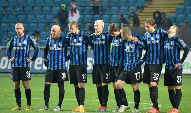 Игроки Черноморца, фото Дмитрия Тимофеева, Football.ua